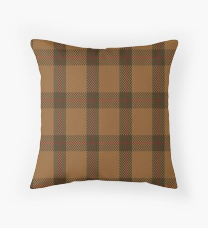 00426 Unnamed Brown (Teddy Bear) Throw Pillow