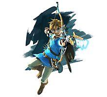 Link from Zelda Wii U: Breath of the Wild Photographic Print
