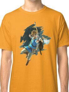 Link from Zelda Wii U: Breath of the Wild Classic T-Shirt