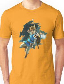 Link from Zelda Wii U: Breath of the Wild Unisex T-Shirt
