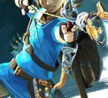 Link from Zelda Wii U: Breath of the Wild Sticker