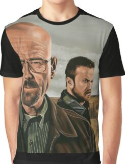 Breaking Bad painting Graphic T-Shirt