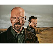 Breaking Bad painting Photographic Print