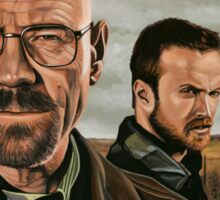 Breaking Bad painting Sticker