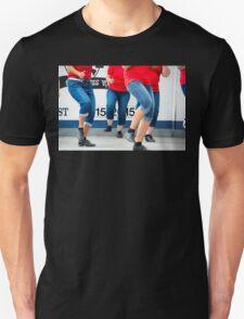 stomping legs Unisex T-Shirt