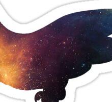Galaxy Komodo Dragon Sticker