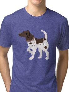 Pixel Pointer Tri-blend T-Shirt