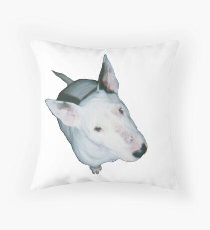 English Bull Terrier  Throw Pillow