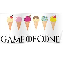 Game of Cones Poster