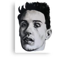 JAMES FRANCO DRAWING Canvas Print