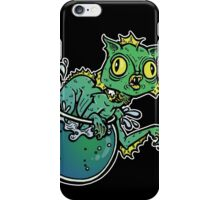 Creature From The Cat Lagoon iPhone Case/Skin