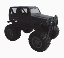 Suzuki Samurai Jeep Model Kids Tee