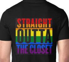 Straight Outta The Closet - Gay Unisex T-Shirt