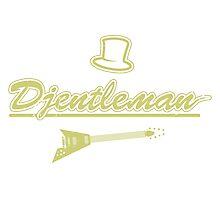 Djentleman Guitar Logo Photographic Print