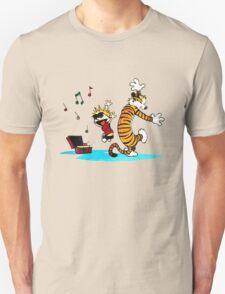Calvin and Hobbes Music  T-Shirt