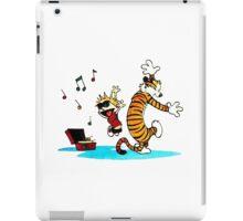 Calvin and Hobbes Music  iPad Case/Skin