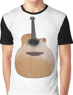 Acoustic Guitar Graphic T-Shirt