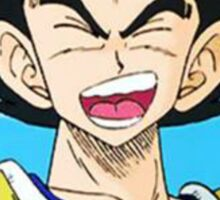 """Vegeta Smile - Dragon Ball Z""  Sticker"