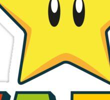 Mario Star Wars Sticker