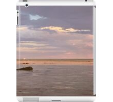 town beach mud flats  iPad Case/Skin