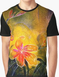 DayLilies....Blooming Free... Graphic T-Shirt