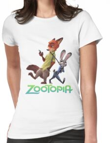 Zootopia Womens Fitted T-Shirt
