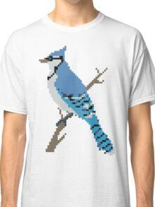 Pixel Blue Jay Classic T-Shirt