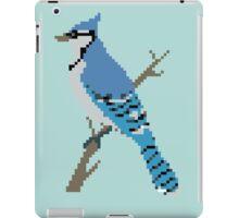 Pixel Blue Jay iPad Case/Skin