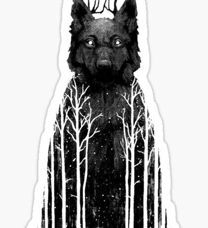 Wolftree Sticker