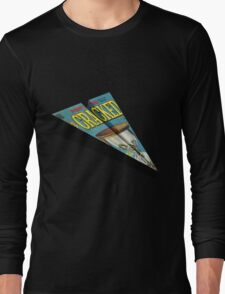 CRACKED Paper Airplane 109 Long Sleeve T-Shirt
