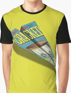 CRACKED Paper Airplane 109 Graphic T-Shirt