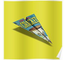 CRACKED Paper Airplane 109 Poster