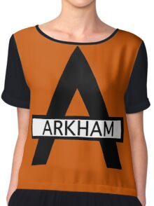 Batman : Arkham Asylum Chiffon Top