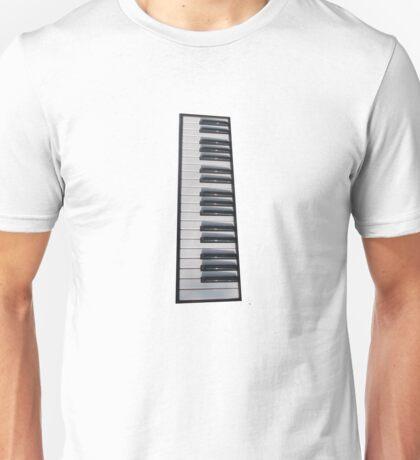 Piano Keyboard Unisex T-Shirt