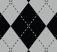 Argyle Diamonds 9 Black Sticker