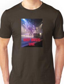Music Keep Music 'Live' Unisex T-Shirt