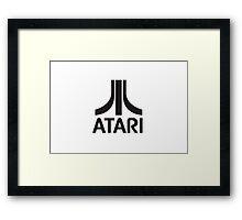 Atari Logo Merch! Framed Print