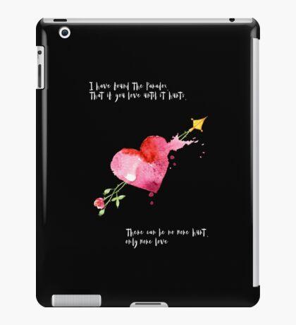 Love Hurts Paradox iPad Case/Skin