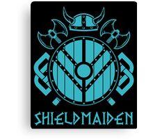 Lagertha Vikings Shieldmaiden Canvas Print