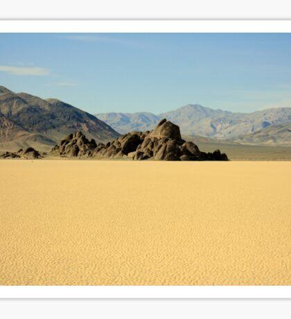 Death Valley Grandstand Sticker