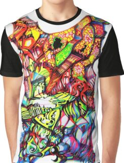 SUPER TRAMP IN THE MIND Graphic T-Shirt