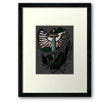 Dark Angels Armor Framed Print