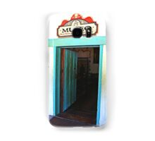 Museum Door in the Old Mission Samsung Galaxy Case/Skin