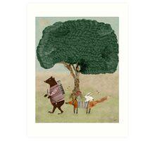 summers adventure Art Print