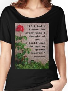 If I had a flower... Women's Relaxed Fit T-Shirt