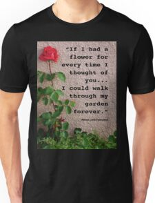 If I had a flower... Unisex T-Shirt
