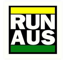 Australia RUN-DMC Style Design - Hip Hop Art Print