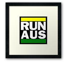 Australia RUN-DMC Style Design - Hip Hop Framed Print