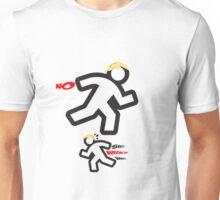 No! - Shit! Wrong Way! Unisex T-Shirt