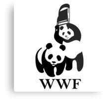 WWF parody Metal Print